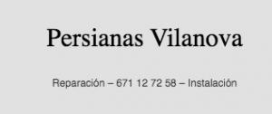 Persianas Vilanova